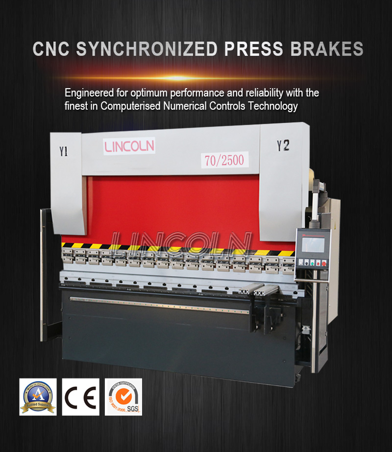 70/2500 CNC bending machine