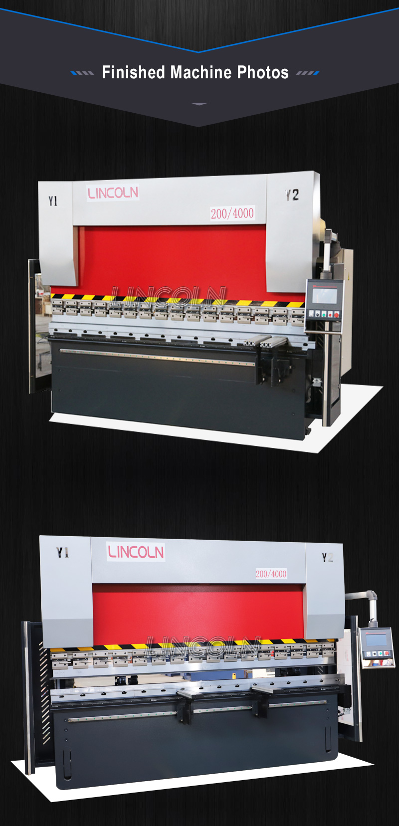 200/4000 CNC bending machine